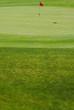 Golf red flag