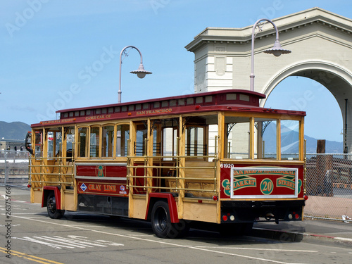 Cabl Car in San Francisco