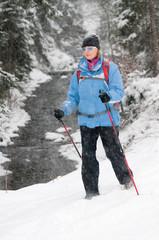 Winter Nordic Walking