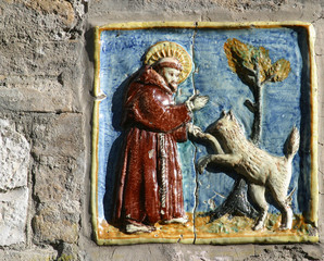 Saint Francis of Assisi patron of all animals