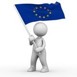 Fototapety European union flag