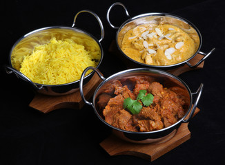 Indian Curries and Rice