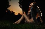 Fototapety Fine art photo of a woman-angel