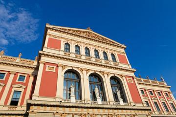 Wiener Musikverein, a famous concert hall in Vienna