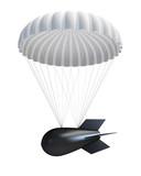 Bomb at Parachute poster
