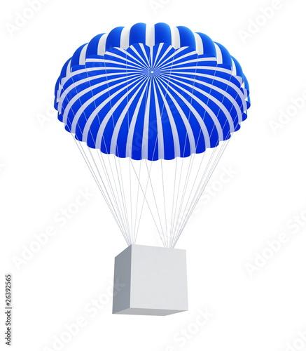 box and Parachute
