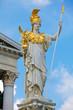 Pallas Athena Statue in Vienna at the Austrian Parliament