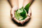 Fototapety concept écologie planète terre verte