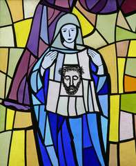 6th Station of the Cross - Veronica wipes the face of Jesus
