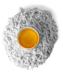 Flour and egg Ver B&W