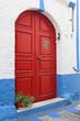 Haustür in Griechenland