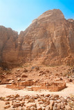 Nabatean temple near Rum village, Jordan