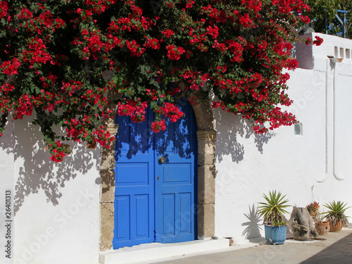 Dorfidylle auf der Insel Rhodos