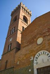 Toscana, Montecarlo di Lucca: la Collegiata di S. Andrea