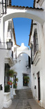street of andalusia in architectural complex pueblo espanol in b
