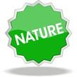 étiquette nature