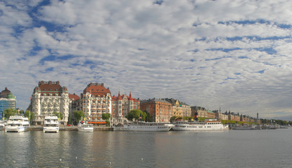 Beautiful view of Stockholm