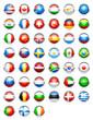 icônes drapeaux pays
