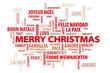 Christmas. Magic Words