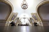 Fototapete Station - Unterführung - Bahnhof