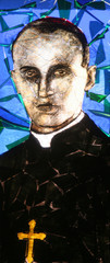 Blessed Aloysius Stepinac, stained glass