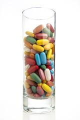 bicchiere di pillole