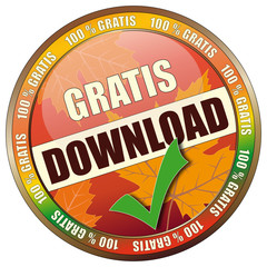 Gratis Download - 100% Gratis - Button Herbst