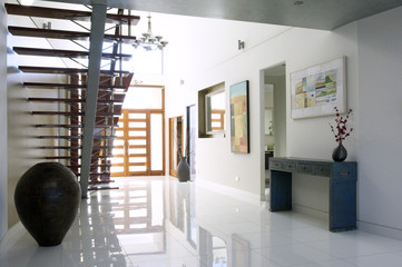 Entrance of Modern Luxury House