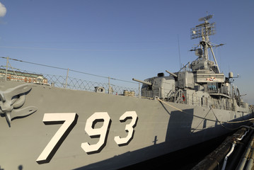 USS Cassin Young at Boston Naval Yard