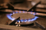 Gas hob cooker poster