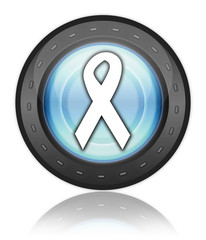 "Industrial Style Icon ""Awareness Ribbon"""