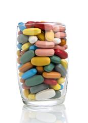 bicchierino di pastiglie