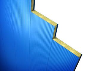 wall sandwich panels are interconnected