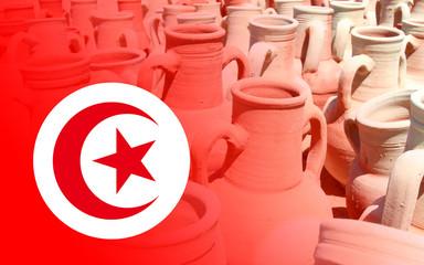 Tunisie - Djerba - Poteries de Guellala