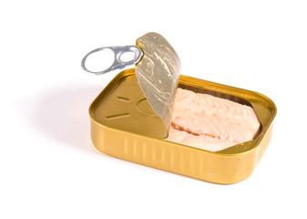 scatoletta di salmone sott'olio