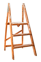 Vintage Wooden Step Ladders