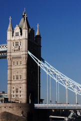 The Tower Bridge the famous landmark of London