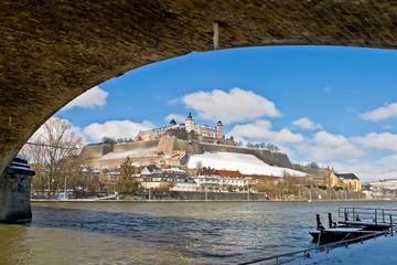 Festung Würzburg - Torbogen