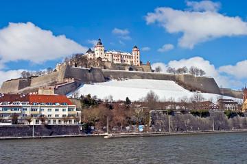 Würzburg Festung Winter