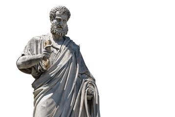 Statua di San Pietro, Piazza S. Pietro, Vaticano, Roma
