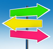 Three Arrow Signs - Which Option Do You Choose?