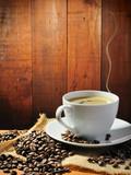 Fototapeta biały - Kuchenka - Kawa / Herbata / Czekolada