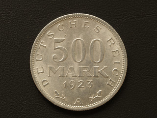 500 Mark Münze