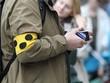 Leinwanddruck Bild - Blind telefonieren