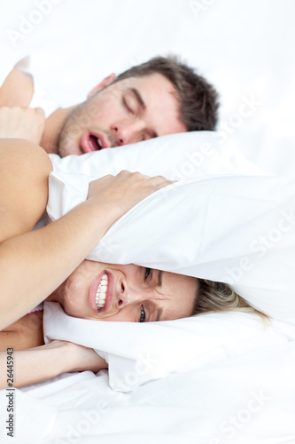 Beautifull couple in bed