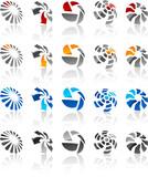 Fototapety Set of modern emblems.