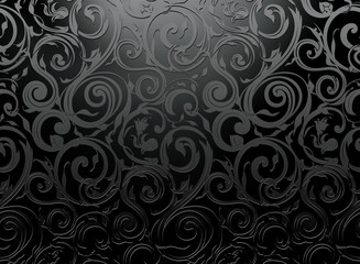 Black Seamless Wallpaper