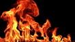 Fire. 8х slow motion / High Speed HD Camera