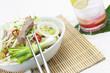 Sojasprossen mit weisskohl und Schweinefleisch