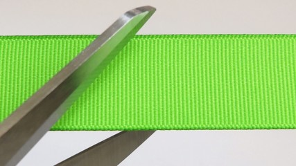 Das grüne Band - Video - Cutting green Ribbon